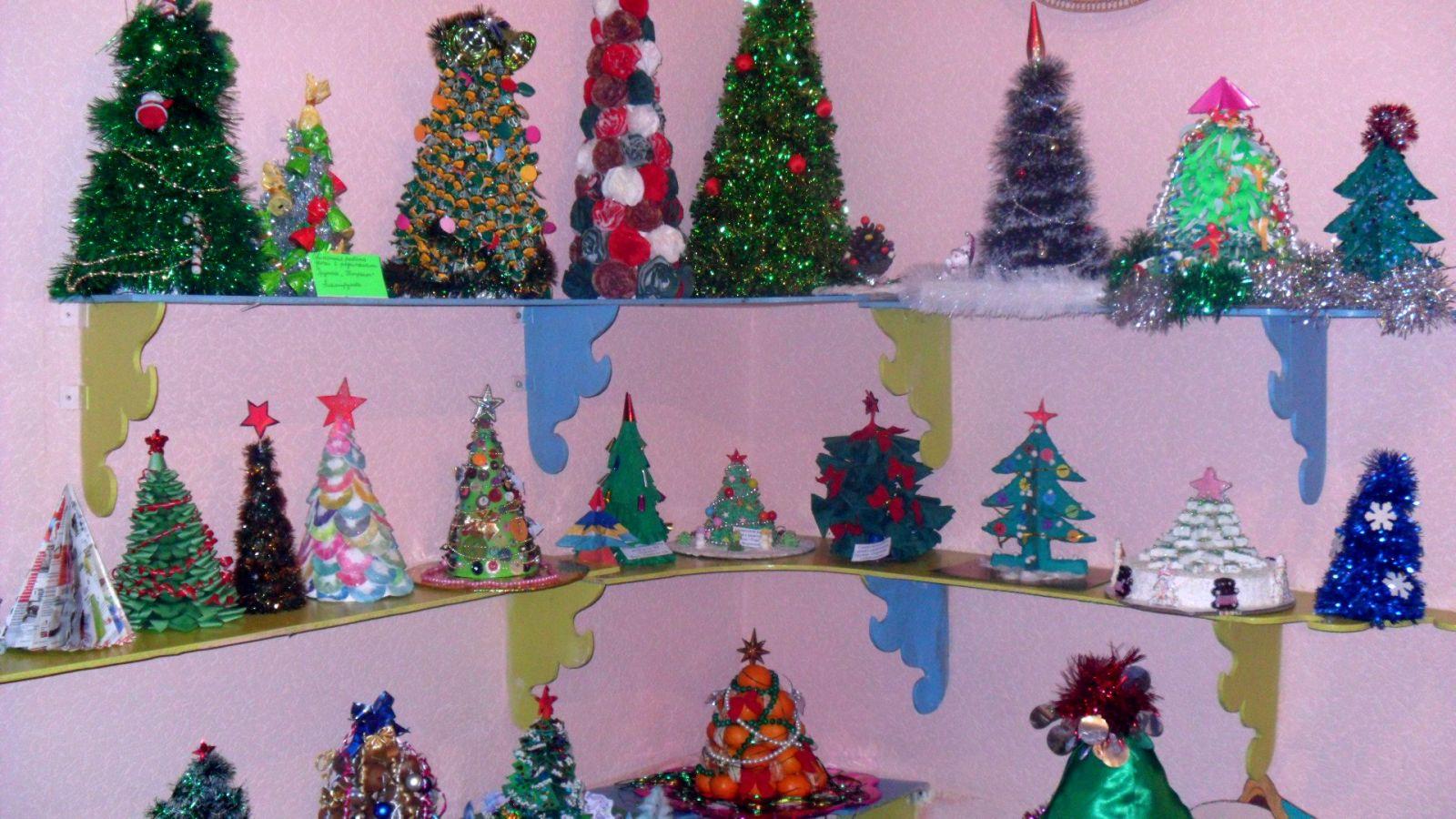 Новогодние поделки в детский сад все