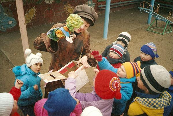 Проведение экскурсии детям