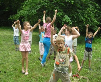 Сценарій конкурс літній табір
