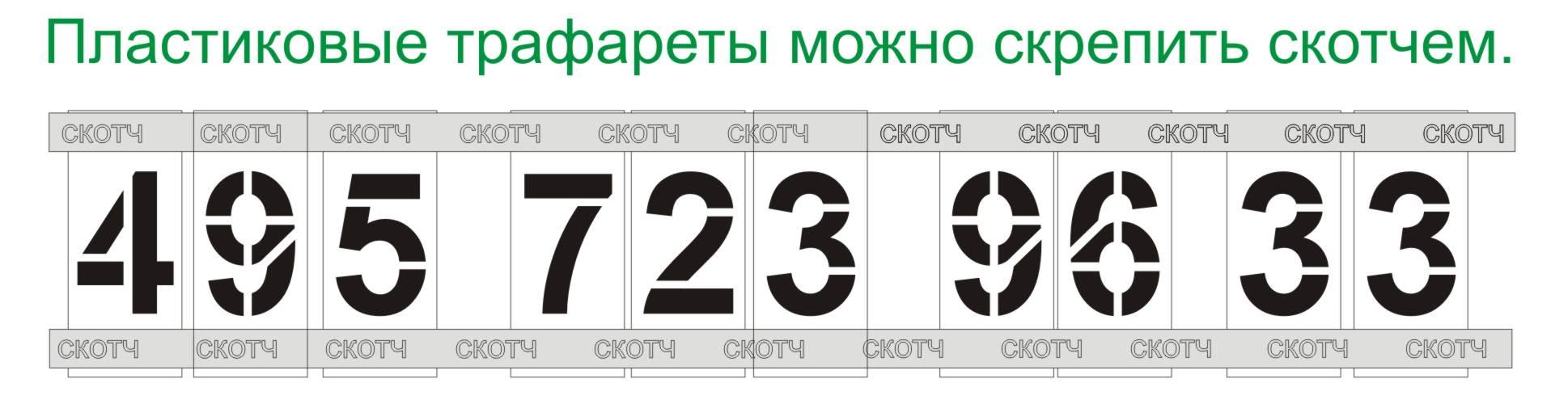 Как сделать трафарет для цифр своими руками - Meduzaka.ru