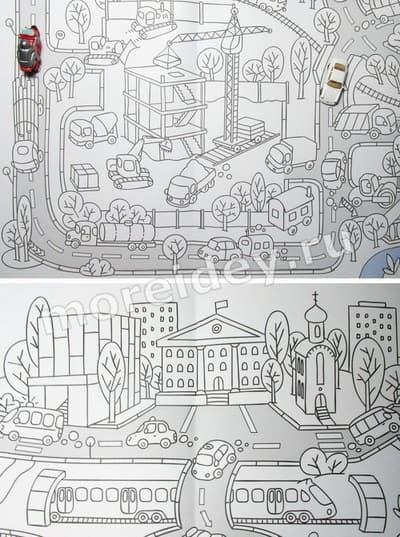 Игры раскраски для больших