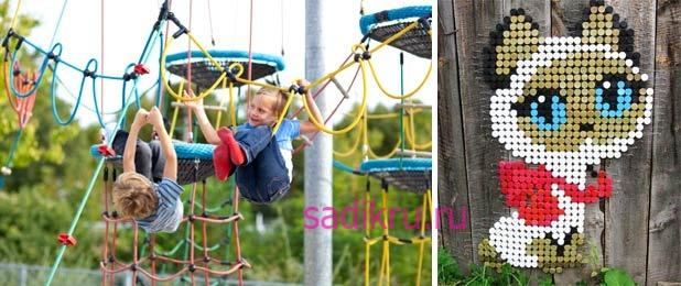 Интересные идеи для детской площадки в садике