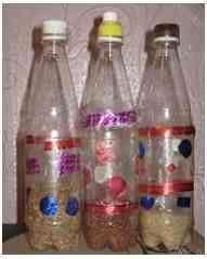 Погремушка своими руками с бутылки